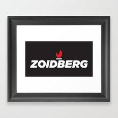 Zoidberg Framed Art Print