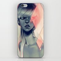 loish iPhone & iPod Skins featuring Blush by loish