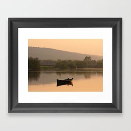The Lone Cot Framed Art Print