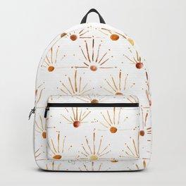 Golden Sun Rays Backpack