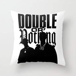 BIG - DOUBLE OR NOTHING Throw Pillow