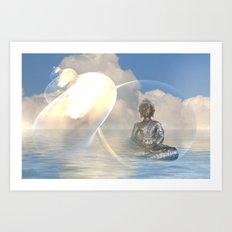 Buddhas Dreamworld Art Print