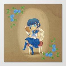 Retro Sailor Mercury Canvas Print