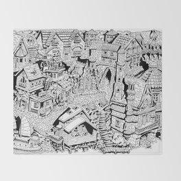 Capharnaüm City Throw Blanket