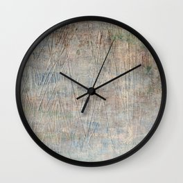 No Clearing Here Wall Clock
