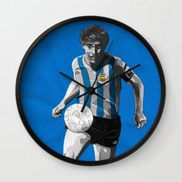Diego Maradona - Argentina Wall Clock