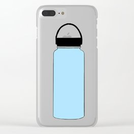 blue hydro Clear iPhone Case