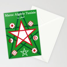Maghreb Maroc Algérie Tunisie Travel Art Print Poster Decoration Stationery Cards