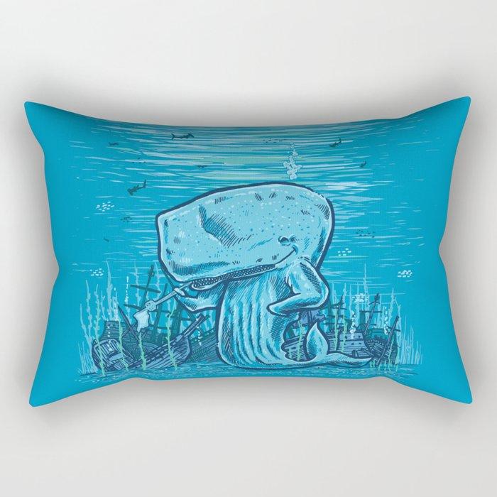 Catch me if you can Rectangular Pillow