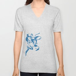 Follow the Blue Herd #154 Unisex V-Neck