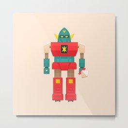 Robo-Bros. – Roninbot Metal Print