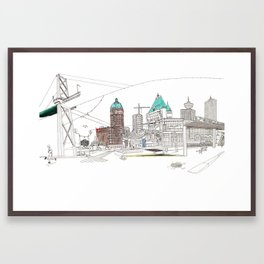 'CANADA' PART 2 OF 10* Framed Art Print