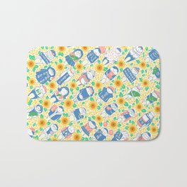 Sunflower Movement Bath Mat