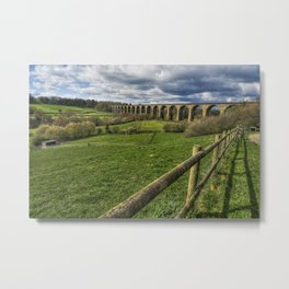 Railway Viaduct Metal Print