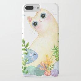 The Aquarium Cat iPhone Case
