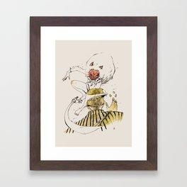 MONONOKE (SASHIMI) Framed Art Print