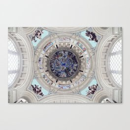 Spanish Ceiling Canvas Print