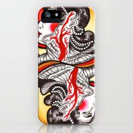 Sanguis Regina iPhone Case