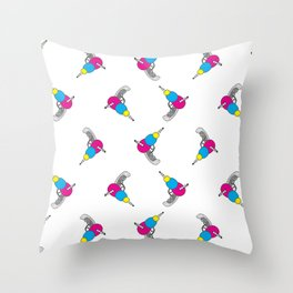 Ray Gun Throw Pillow