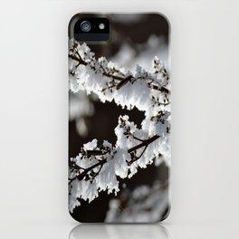 Bitten by Frost iPhone Case