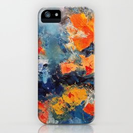 Orange Fish iPhone Case