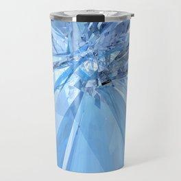 Blue Crystals Travel Mug