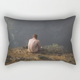 Waiting Rectangular Pillow