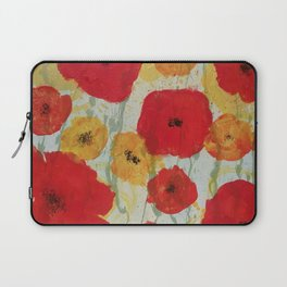 Show Poppies Laptop Sleeve