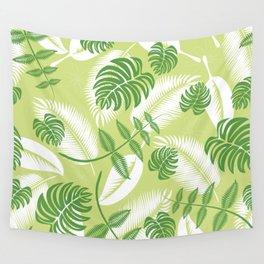 Fresh Tropical Palm Leaf Wall Tapestry