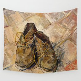 Vincent van Gogh - Shoes Wall Tapestry
