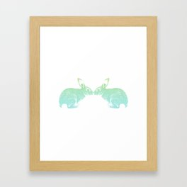 loverabbits Framed Art Print