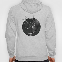 Elk and Rabbit Hoody