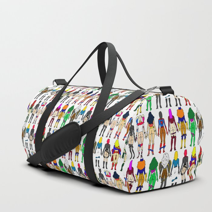0a89697d5b Superhero Butts - Girls Superheroine Butts LV Duffle Bag by notsniw ...