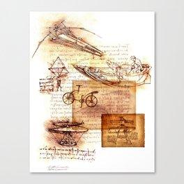 After Leonardo Canvas Print
