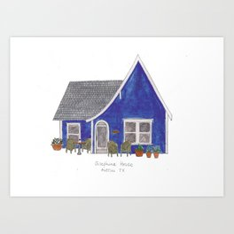 The Austin Collection: Josephine House Art Print