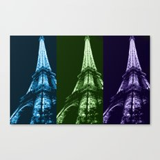 Triple tower Canvas Print