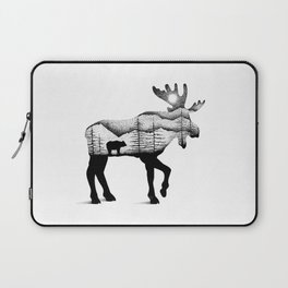 THE MOOSE AND THE BEAR Laptop Sleeve