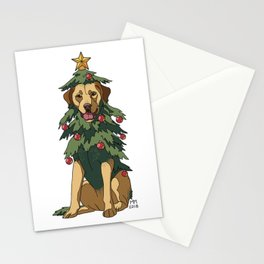 Yellow Labrador Retreever Stationery Cards