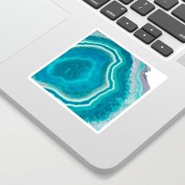 Frozen heart agate Sticker