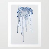 rain Art Prints featuring RAIN by Aneesh vini