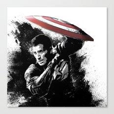 Steve Rogers: Shadow Edition Canvas Print