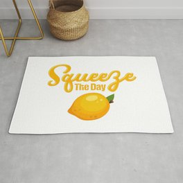 Lemon Squeeze The Day Rug