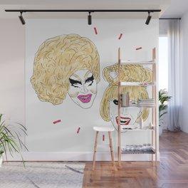 UNHhhh - Trixie and Katya Wall Mural