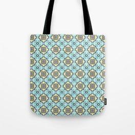 Floor Series: Peranakan Tiles 76 Tote Bag