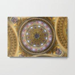 St Stephens Basilica Budapest Metal Print