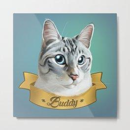Buddy Metal Print