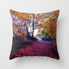 Carnival of Rust Throw Pillow