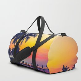 Miami sunset Duffle Bag
