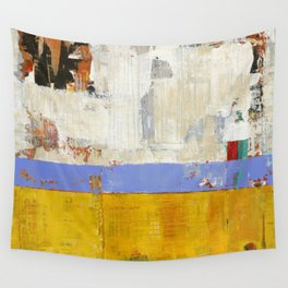 Amenity Abstract Landscape Yellow Modern Shawn McNulty Wall Tapestry