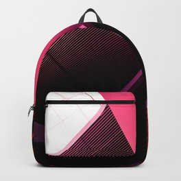 Urban Beauty in Pink Backpack